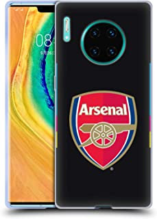 Official Arsenal FC Home Goalkeeper 2016/17 Crest Kit Soft Gel Case Compatible for Huawei Mate 30 Pro / 5G