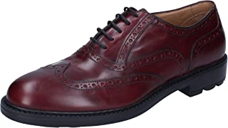TRIVER FLIGHT Oxfords Mens Leather Purple