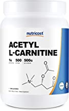 Nutricost Acetyl L-Carnitine (ALCAR) 500 Grams - 1000mg Per Serving - High Quality Pure Acetyl L-Carnitine ...