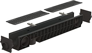 Standartpark - 4 inch trench drain cast iron package slotted - 6.2