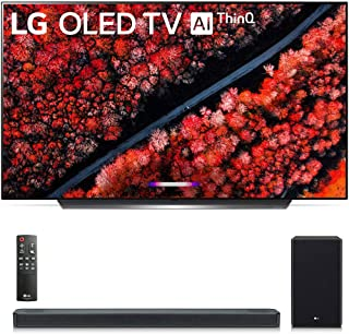 "OLED65C9PUA 65"" C9 4K HDR Smart OLED TV w/AI ThinQ (2019 Model) w/ SL8YG 3.1.2 Channel High Res Audio Sound Bar"