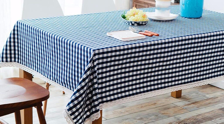 WFLJL einfachen Stil TableclothCoffee tisch Esstisch Baumwolle Rechteck Abdeckung Tuch 100160 cm B075WX517W Neues Design  | Quality First