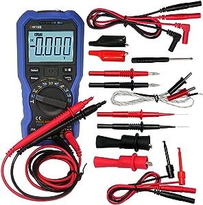Owon OW18B Bluetooth Digital Multimeter True RMS Electronic Test Lead TLP20157