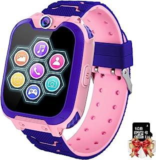Orologio Intelligente Bambini con 7 Giochi - Musica MP3 Smartwatch Bambini, Orologio Intelligente Bambini con Telefono All...