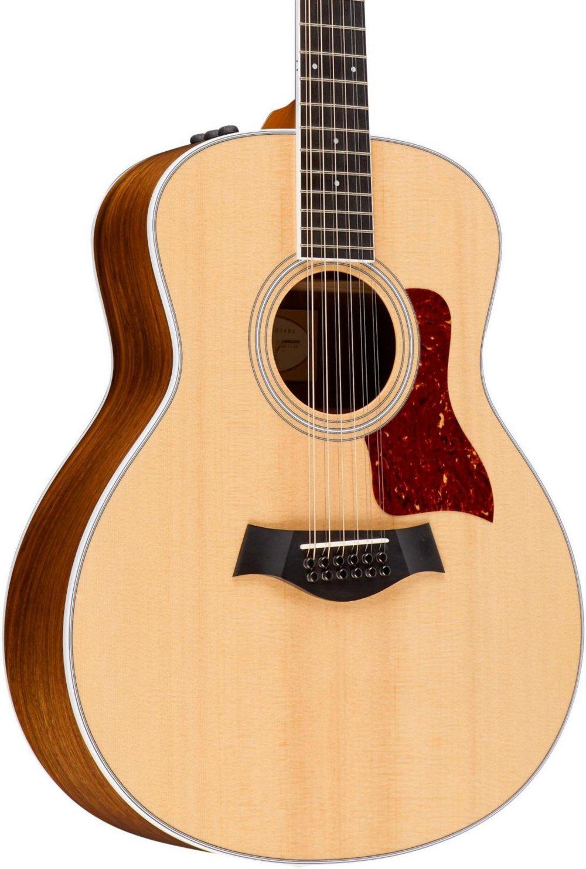 Taylor 456E de 12 cuerdas Guitarra Western con pastilla: Amazon.es ...