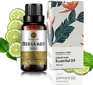 Bergamot Essential Oil (30ML), 100% Pure Natural Organic Aromatherapy Bergamot Oil for Diffuser, Massage, Skin Care, Yoga,...