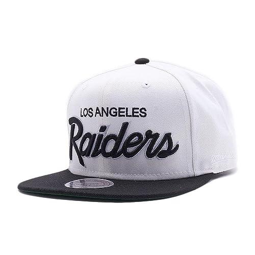 e302abef7 Mitchell & Ness Los Angeles Raiders Black Vintage Adjustable Snapback NFL