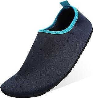 4e4db33041 Qimaoo Chaussures de Plage Sport Chaussures Aquatiques Homme Femme  Chaussures de Yoga de Bain Chaussures de