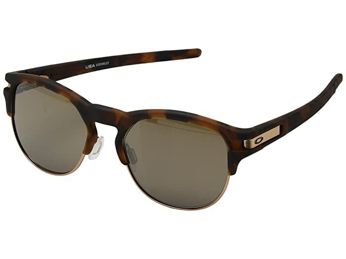 Oakley Latch Key M (52) (Matte Brown Tortoise w/ Prizm Tungsten) Athletic Performance Sport Sunglasses