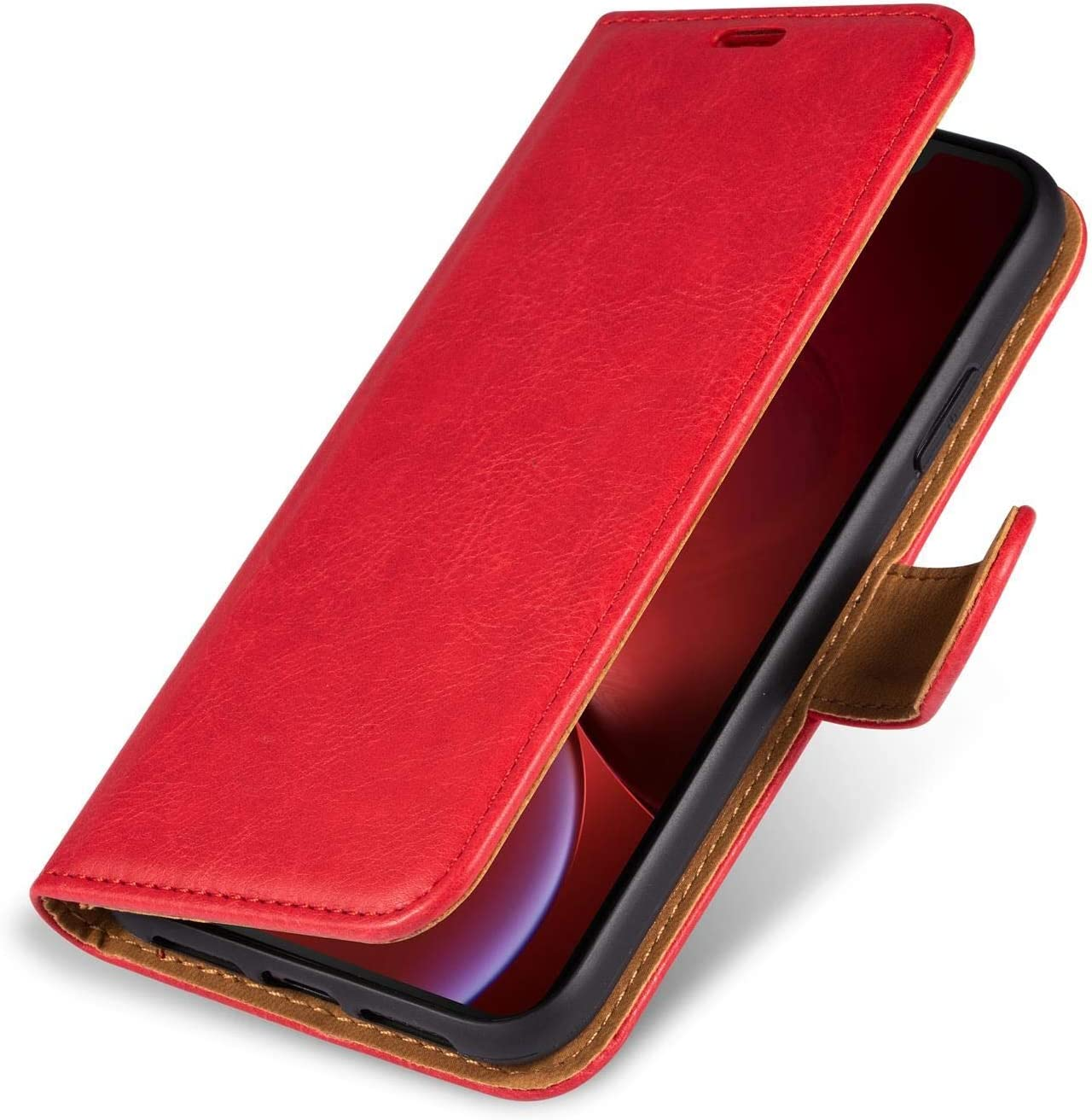 Case Collection Premium Leather Folio Cover for Samsung Galaxy A52 5G Case for Samsung A52 Phone Case and Kickstand Magnetic Closure Full Protection Book Design Wallet Flip with Card Slots 6.5