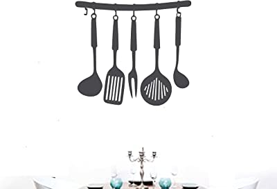 Asmi Collections Kitchen Tools Wall Stickers