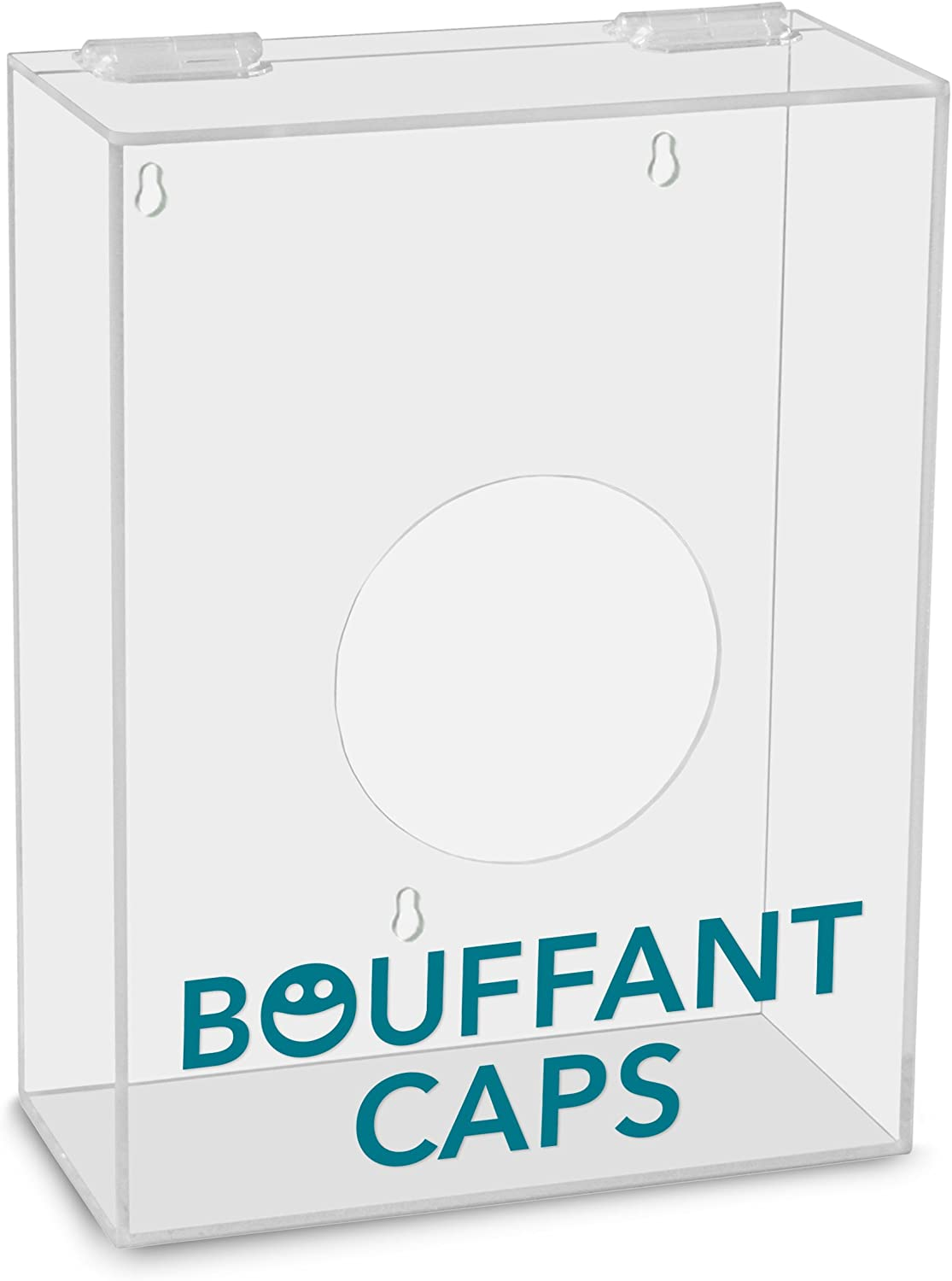 TrippNT 51312 Bouffant Caps Labeled Small Apparel Dispenser, 9-Inch Width x 12-Inch Height x 4-Inch Depth