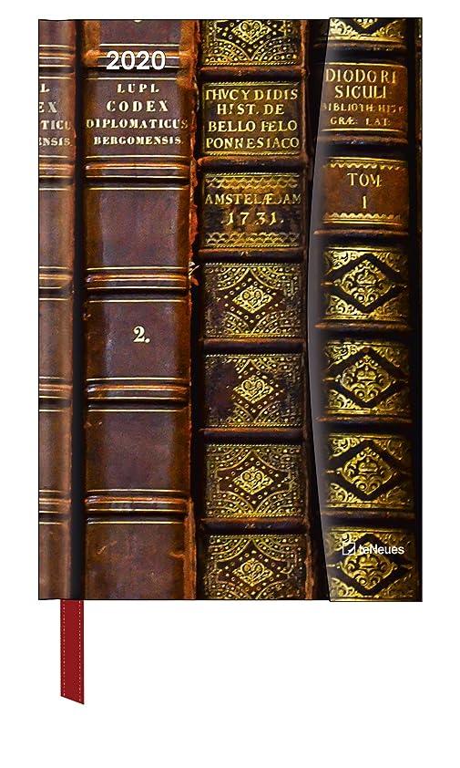 調和のとれたモノグラフ吹きさらしAntique Books 2020 Magneto Diary Taschenkalender: Buchkalender A6