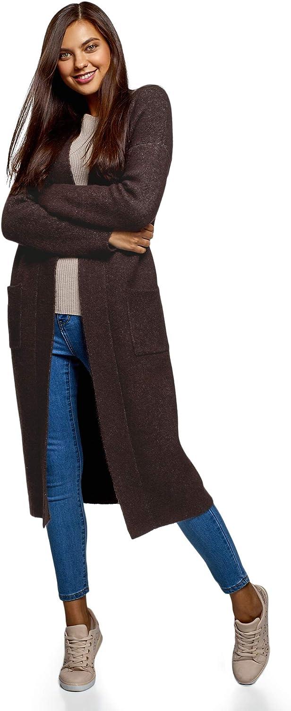 oodji Ultra Women's Long Knit Cardigan