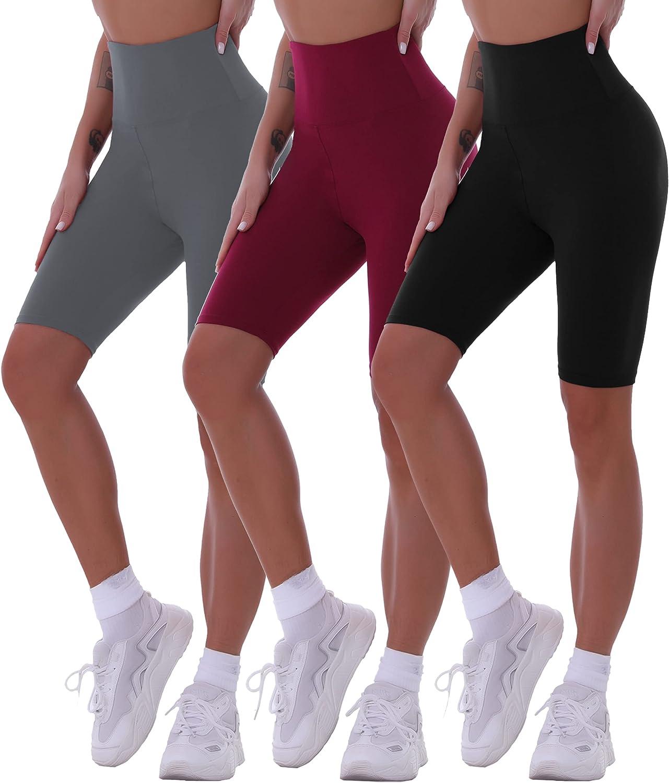 Ranking TOP4 CASRUNCLO Biker Shorts for Women High Ranking TOP10 Opaque Soft Spa Waisted 8