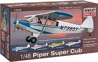 Minicraft Piper Super Cub Airplane Model Kit (1/48 Scale)