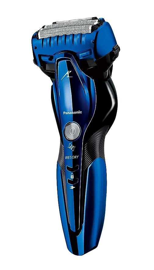クリーク入射時代遅れパナソニック ラムダッシュ メンズシェーバー 3枚刃 お風呂剃り可 青 ES-CST8Q-A