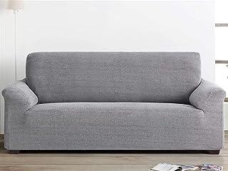 comprar comparacion Lanovenanube Belmarti - Funda sofá Elegant - PatternFit - 3 plazas - Color Gris Claro C21