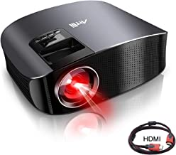 Movie Projector - Artlii 4000 Lux Full HD 1080P Support Projector, LED Projector with HiFi Stereo, Home Theater Projector w/ 200