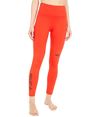 RVCA RVCA Sport Leggings I (Flame Red) Women