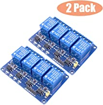 Huayao 2pcs 4 Channel DC 5V Relay Module with Optocoupler for Arduino UNO R3 MEGA 2560 1280 DSP ARM PIC AVR STM32 Raspberry Pi