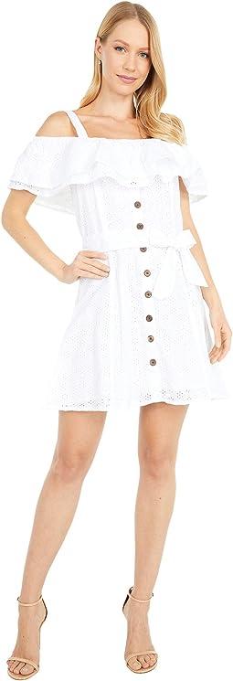 Ruffle Lace Dress D5-5140