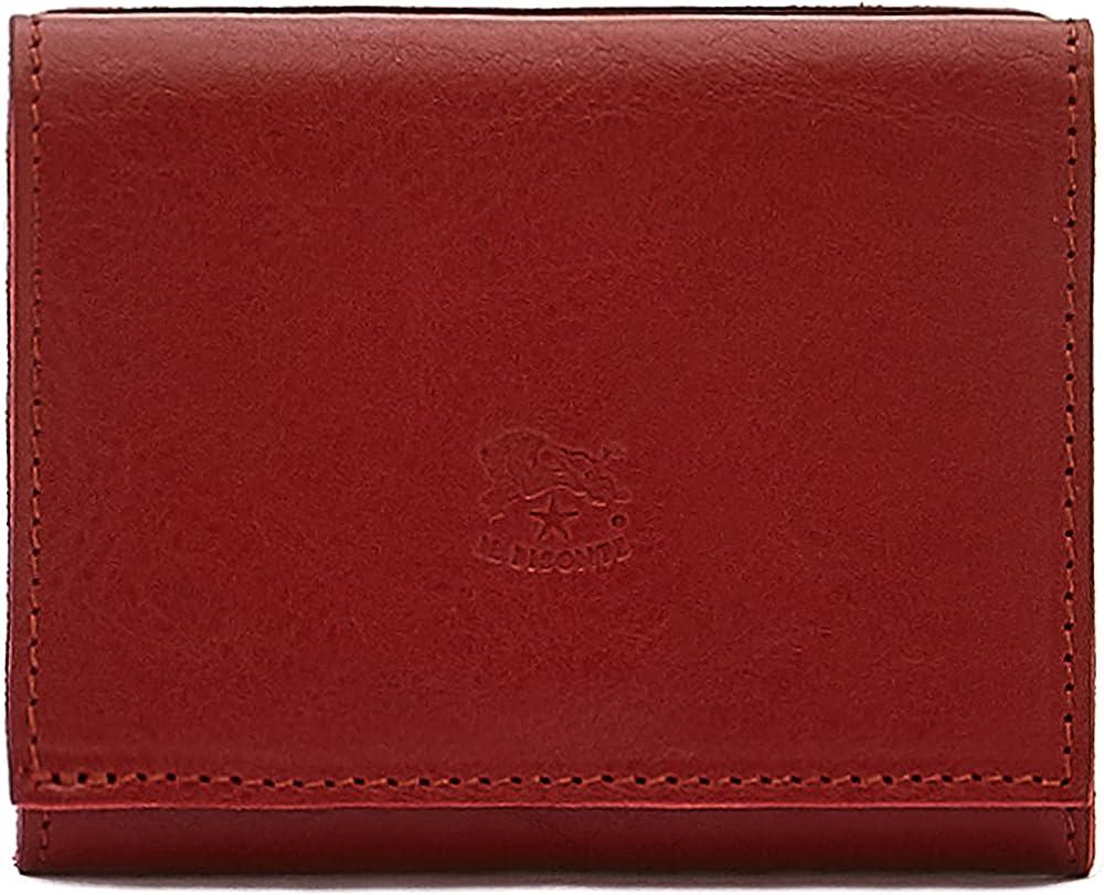 Il bisonte portafoglio porta carte di credito unisex in vera pelle SMW036PV0005