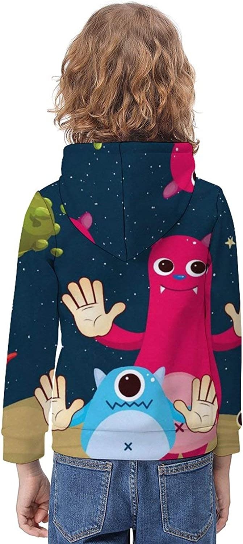 ODOKAY Unisex Kids Clothes Sweatshirts Printed Boys Sweatshirt for Party