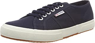 Superga 2750 Cotu Classic, Unisex Adults' Low-Top Sneakers, Blue (Navy-White), 9.5 UK (44 EU) (S000010_F43)