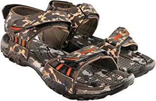 Blinder Mens Camouflage Comfortable Velcro Sandals