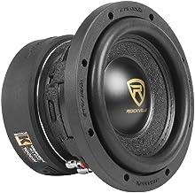 """Rockville W65K9D4 6.5"""" 1000w Car Audio Subwoofer Dual 4-Ohm Sub CEA Compliant"""