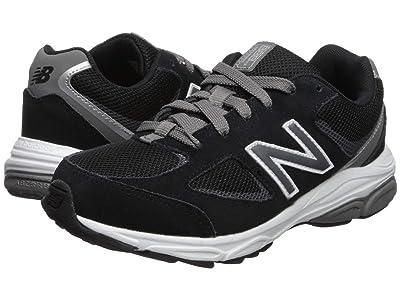 New Balance Kids GK888v2 (Big Kid) (Black/Grey) Boys Shoes