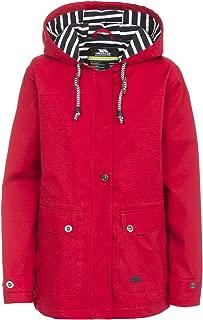 Trespass Seawater Womens Hooded Raincoat Waterproof Ladies Fisherman Jacket