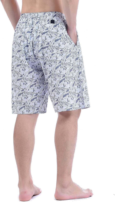 "Men's Boardshorts Swim Trunks Casual Shorts Hybrid Fishing Shorts 21"" to 22"" with Mesh Lining"
