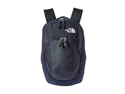 The North Face Pivoter Backpack (Urban Navy Light Heather/TNF White) Backpack Bags