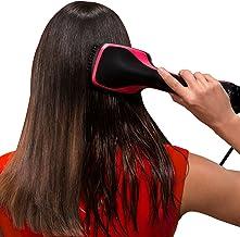 One Step Hair Dryer & Styler, Meraif Hot Air Paddle Brush Negative Ion Generator Salon Hair Straightener for All Hair Types
