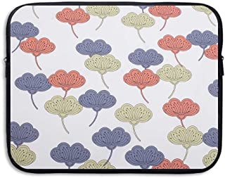 Fonsisi Botany Abstract Leaves Art Laptop Storage Bag - Portable Waterproof Laptop Case Briefcase Sleeve Bags Cover