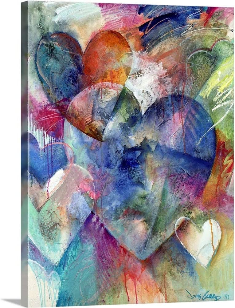 Opening The Heart Canvas Wall SEAL limited product Art Artwork Clearance SALE! Limited time! Love Print