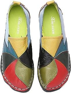 4-7 Sandali DONNA VERA PELLE MOCASSINI MOCASSINO moccasin shoes Taglie