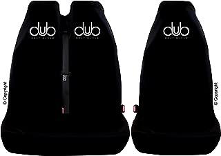 DUB SEAT GLOVE Genuine Protective Seat Cover in BLACK SCIROCCO Compatible .