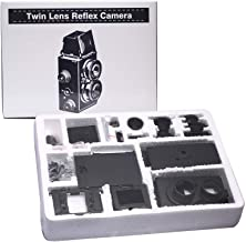 DEVMO DIY Lightnes Classic Retro Holga Lomo Recesky TLR Camera 35mm Film Twin Lens Reflex Kit