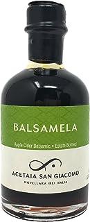 Sponsored Ad - San Giacomo USDA Organic Balsamela Apple Balsamic Vinegar 3.37 fl oz (100ml)
