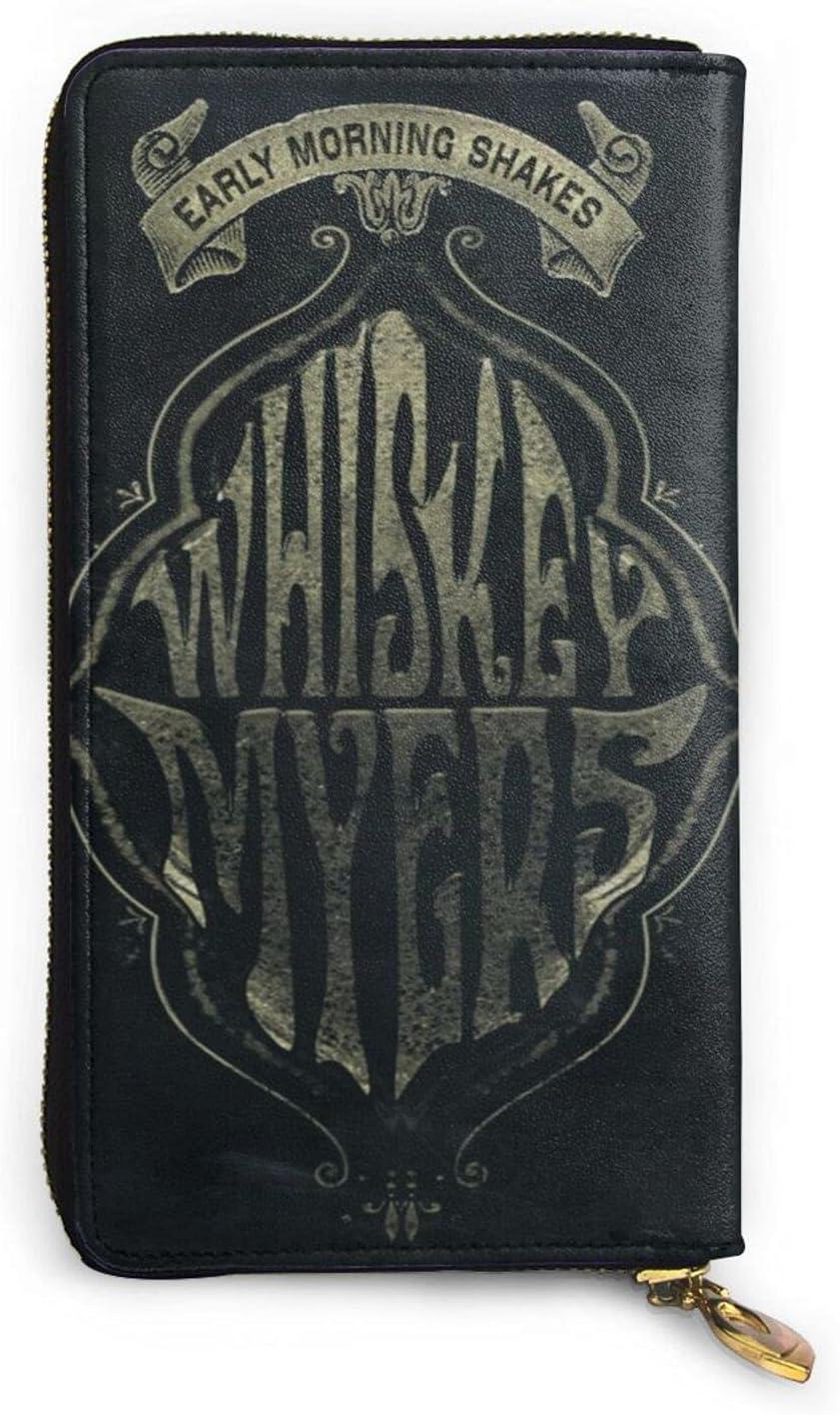 Whiskey Myers Leather Many popular brands Wallet Credit Card For Bag Over item handling Phone Holder Me