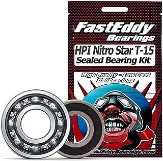 HPI Nitro Star T-15 Pullstart .15 Sealed Ball Bearing Kit for RC Cars
