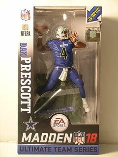 McFarlane Madden NFL 18 Dak Prescott Dallas Cowboys Pro Bowl