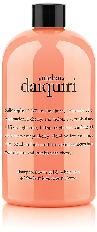 せっかちシングルスカルクPhilosophy Melon Daiquiri Shampoo, Shower Gel & Bubble Bath (並行輸入品)