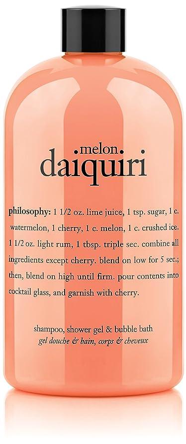 壊滅的なあたり未満Philosophy Melon Daiquiri Shampoo, Shower Gel & Bubble Bath (並行輸入品)