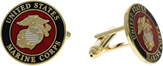 Sujak Military Items USMC Insignia Cuff Links HON14771-Ch
