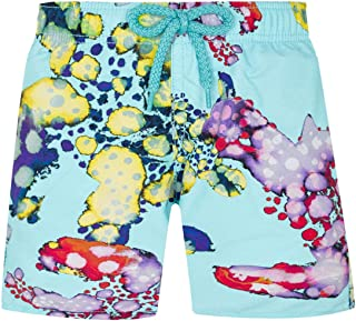 Vilebrequin - Boys - Swimwear Watercolor Turtles