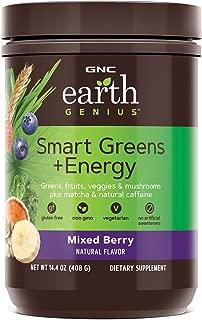 GNC Earth Genius Smart Green Energy, Mixed Berry, 24 Servings